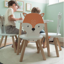 dandelion toddle table and chairs woodland animals
