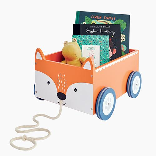 Book Cart, Fox