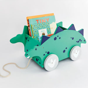 Book Cart,  Dinosaur