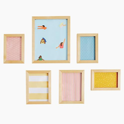 Photo Frame Set, Natural
