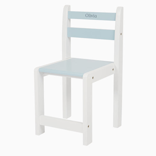 Personalised Toddler Chair, Sky Blue