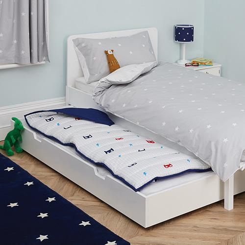 Star Bright Single Bed & Underbed Truckle