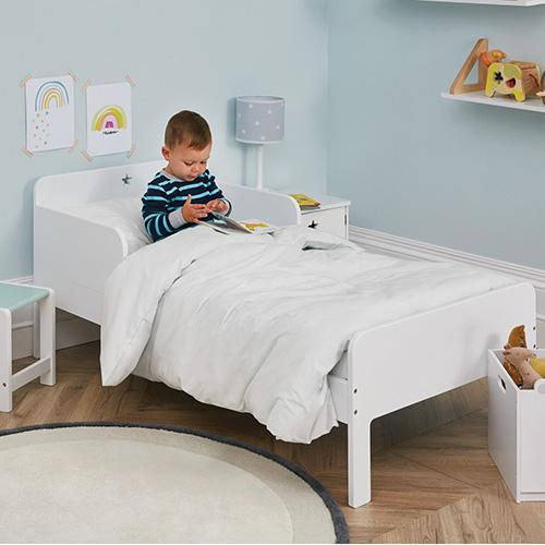 Star Bright Toddler Bed & Mattress