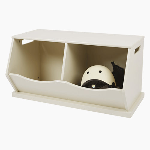 Double Stacking Storage Trunk, Oatmeal