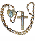 Olive Wood Wall Rosary