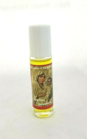 Mary Magdalena 100% Jasmin Scent Glass Bottle Anointing Oil from Jerusalem, The Holy Land