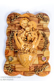 Holy Family Praying Hands Olive Wood Wall Plaque / www.tbng.co.uk