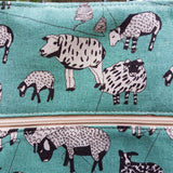 Tote Bag Green Sheep