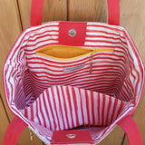 Tote bag Red Fish
