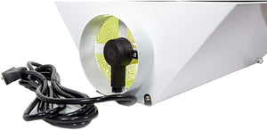 Sunstream Single Ended 6 Inch Air Cool Hood Reflectorfor HPS MH CMH Grow Light System Kits