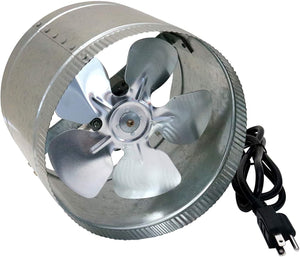 SUNSTREAM Duct Booster Fan 100 CFM, Extreme Low Noise