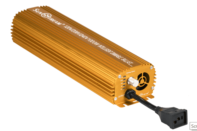 Dimmable Electronic Ballast Without LED Indicator