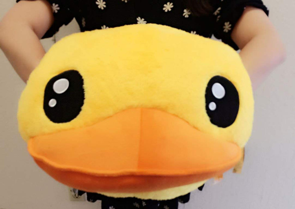 "Yellow Peace Duck Prime Plush 18"" Hand Warmer"