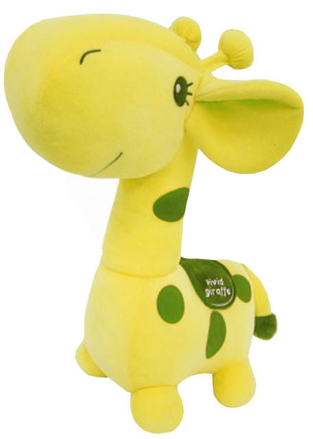 "Giraffe 12"" Prime Plush - Green"