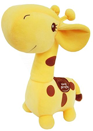 "Giraffe 12"" Prime Plush - Brown"