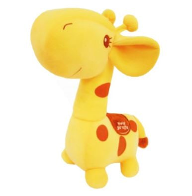 "Giraffe 12"" Prime Plush - Orange"