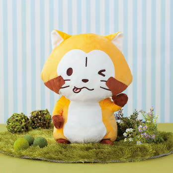 Puchi Rascal BIG Posing Plushy Wink Face Version