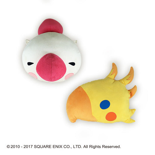 Final Fantasy All Stars - Face Cushion Vol. 2 - Moogle and Chocobo
