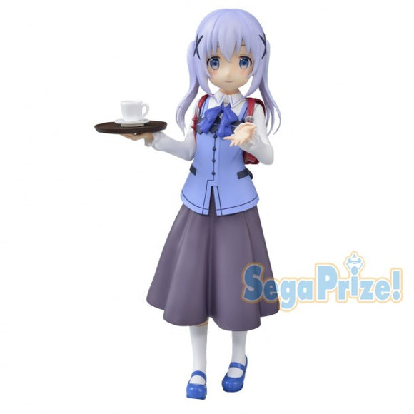 Is The Order A Rabbit? Chimame Ver.  Premium Figure - Chino Kafuu