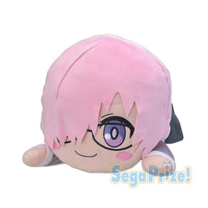 Fate/Grand Order Babylonia Mash Kyrielight Jumbo Nesoberi Lying Down Plush - Casual Clothes Ver.