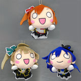 Love Live! No Brand Girls Nesoberi Lying Down mascot Keychain Plush - Second Grade (set/3)
