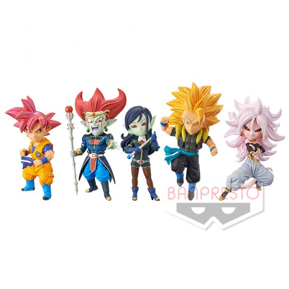 Dragon Ball Heroes WCF World Collectable Figure Vol.6 - 5 Variants(Set of 5)