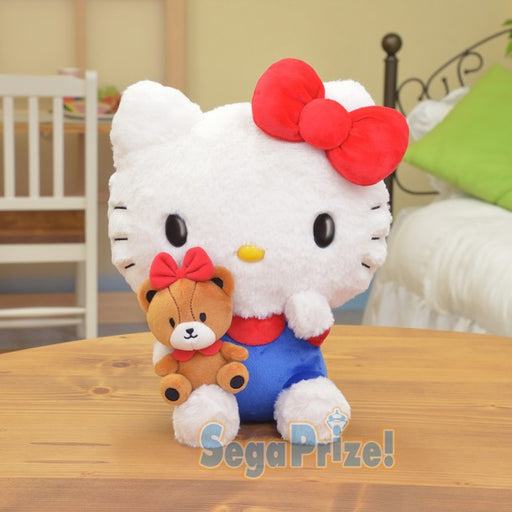 Sanrio Characters Hello Kitty Large  Plush with special Tiny Chum