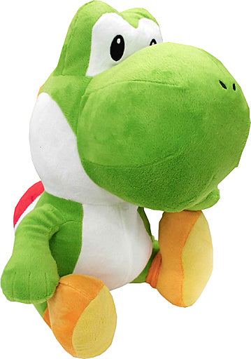 Super Mario Extra Large  Plush Toy - Sitting Yoshi (Green)