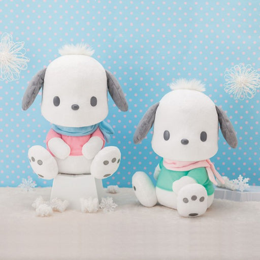 Pochacco Winter Outfits Big Stuffed Soft Plush  (set/2)