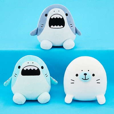 Sameezu Sticky Baby Plush - Set of 3