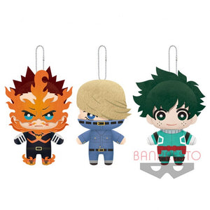 My Hero Academia Tomui Vol.8  Mascot Plush (set/3)