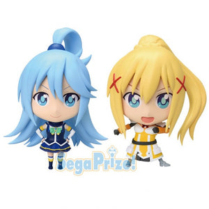 KonoSuba Movie Crimson Legend Premium Mini Figure - Aqua and Darkness