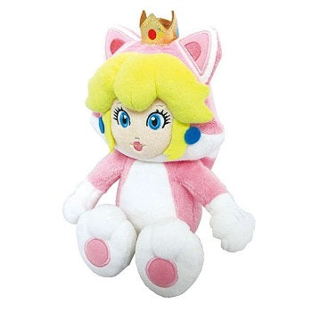 Super Mario Neko Cat Peach Plush 10