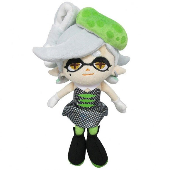 Splatoon Marie Green Squid Sister Plush, 10