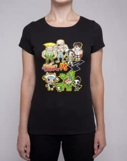 Tokidoki X Street Fighter Black Junior T-Shirt