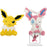 Pokemon Eevee Evolutions Jolteon and Sylveon Plush