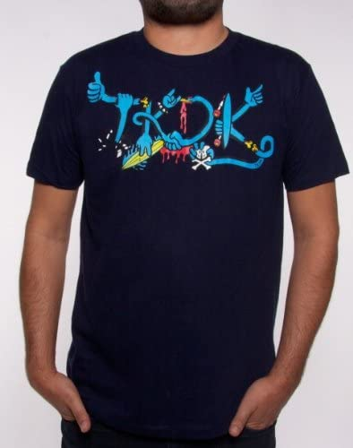 Tokidoki TKDK Punk Men Black T-shirt