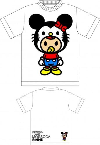 Products Bros. Rinne with Mouse Hat White T-shirt