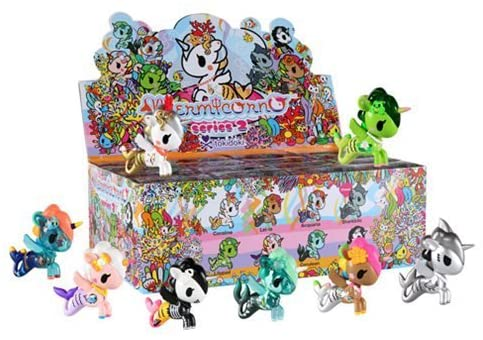 Tokidoki Mermicorno Series 2 Mini-Figures 4-Pack