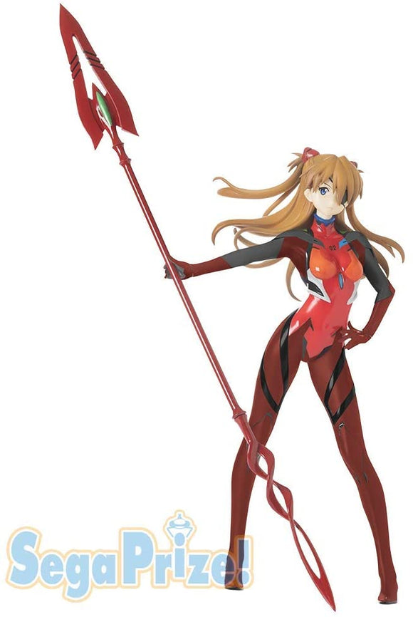 Rebuild of Evangelion: Asuka Shikinami Langley Premium Figure Spear of Cassius