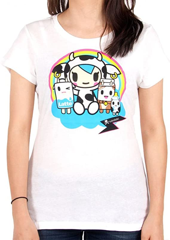 Tokidoki Under The Rainbow White T-Shirt