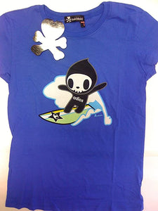 Tokidoki Adios Girl Blue T-shirt
