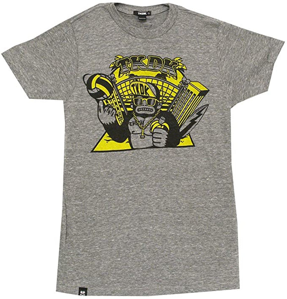 Tokidoki Summer Slam Men Grey T-shirt