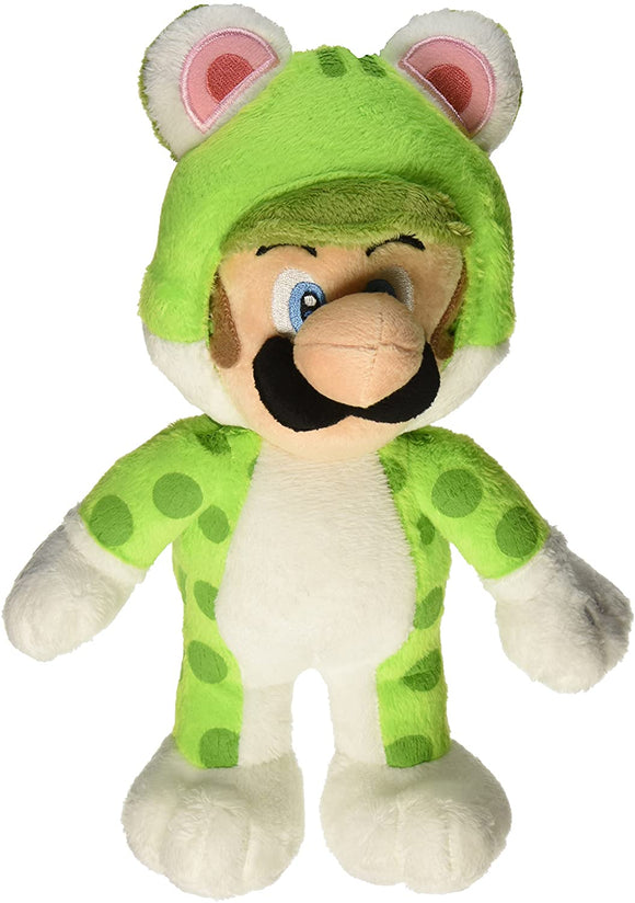 Super Mario Neko Cat Luigi Plush, 10