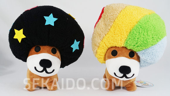 San-X ALL-STARS Afro-Ken Plush with Removable Afro