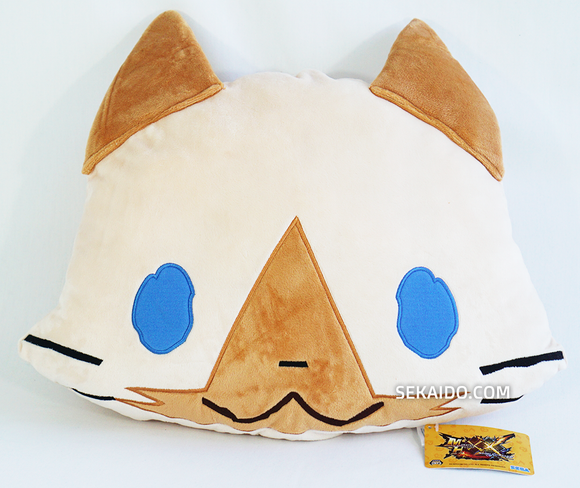 Monster Hunter XX Double Cross - Airou Face Cushion