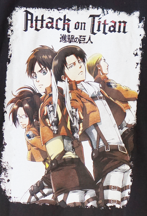 Attack on Titan Group Swords T-Shirt