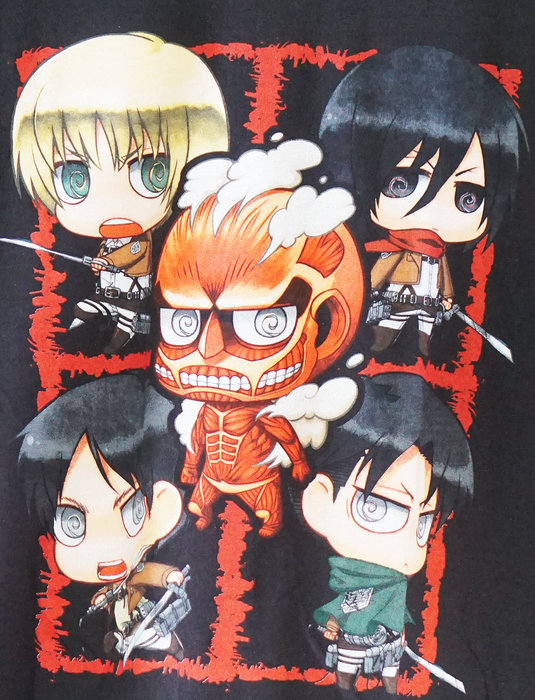 Attack on Titan Tshirt - Chibi Titans
