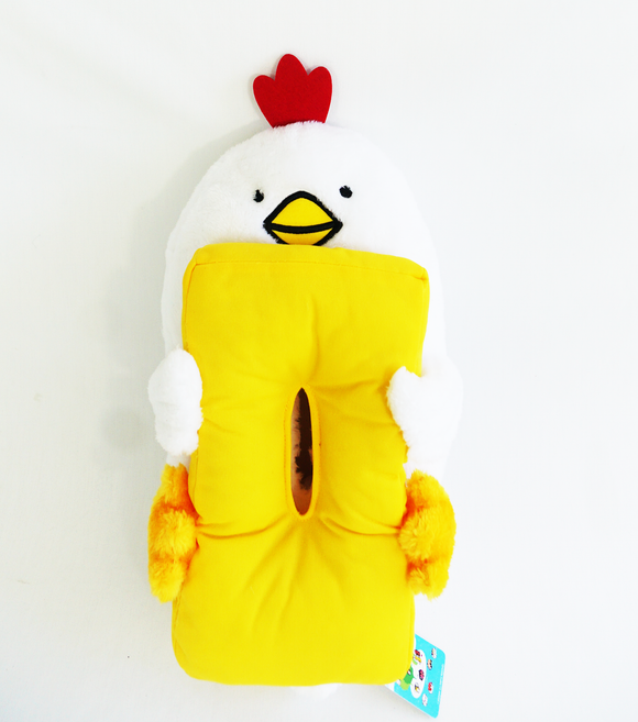 Dakko-Sushi: The Hugging Sushi Tamago-Chicken Plush Tissue Box Cover