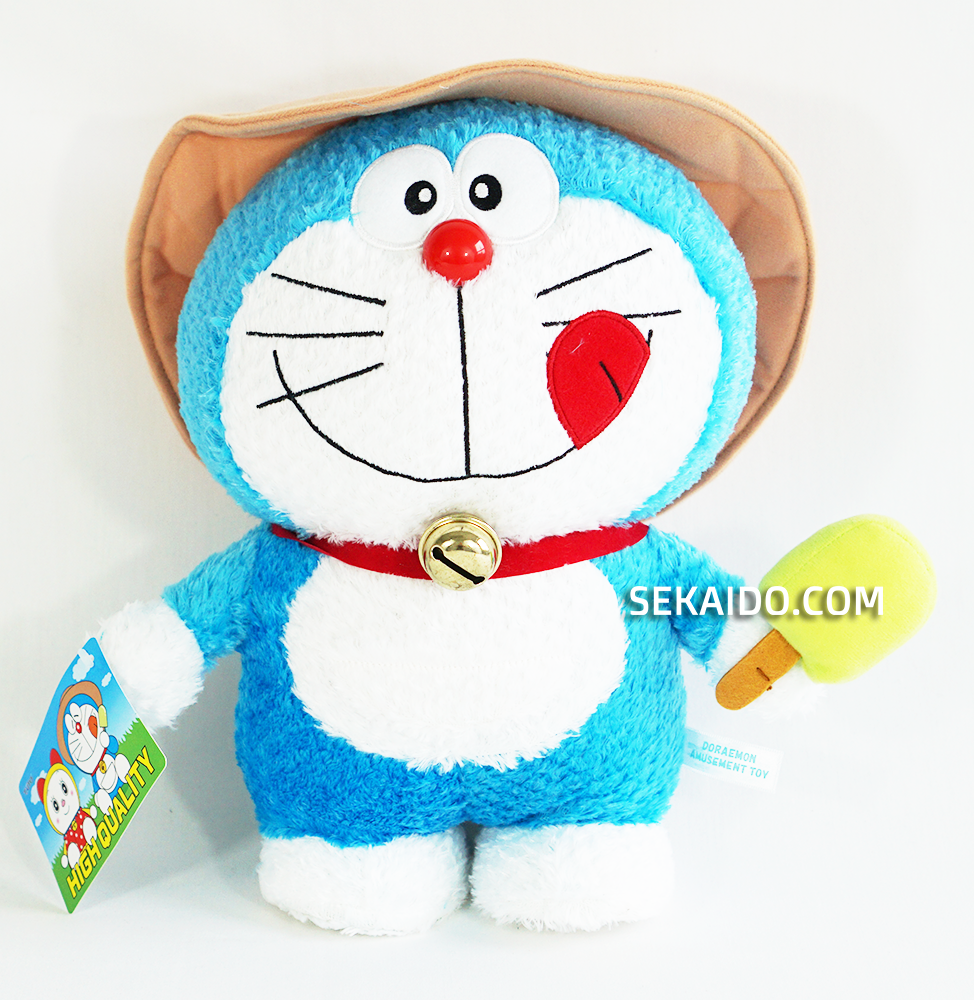 doraemon and dorami plush ice cream version sekaido com sekaido com